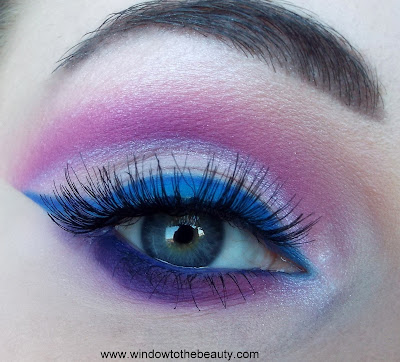 coloured raine vivid pigments colourful makeup