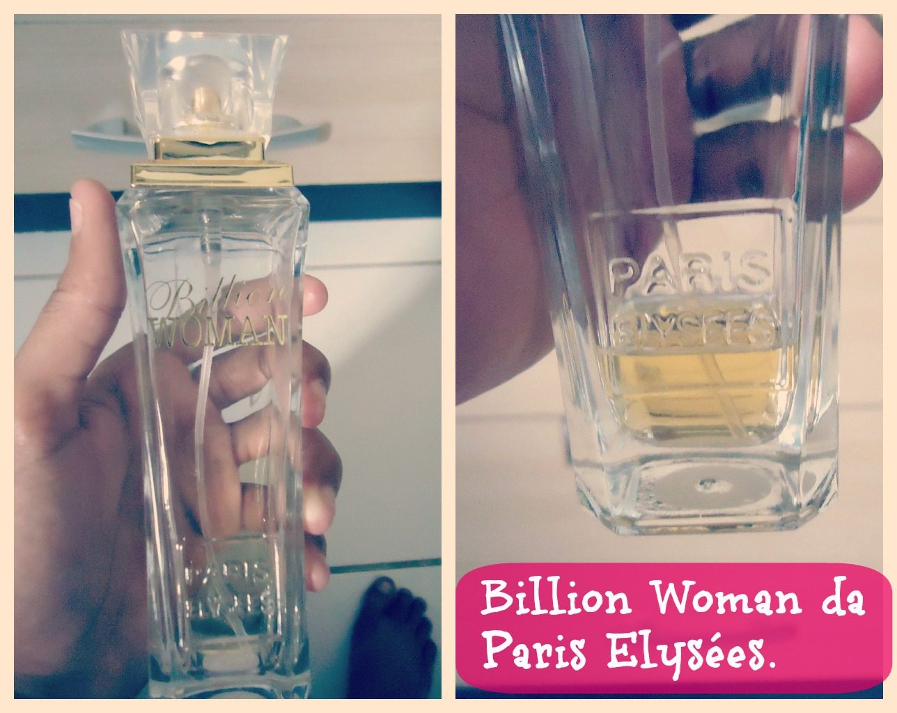 c60e9e917 De carona na moda!  Resenha  Perfume Billion Woman