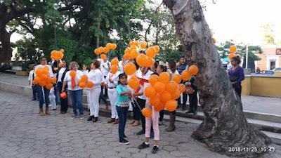 Comerán día internacional de la eliminación de la violencia contra la mujer y las niñas