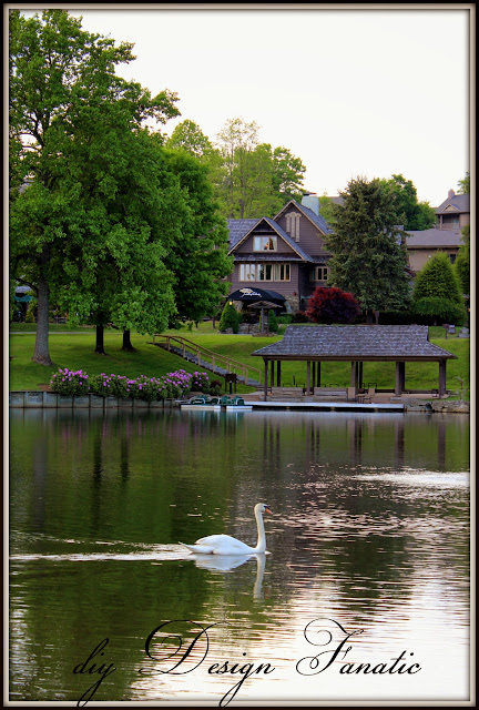 Chetola Resort, Blowing Rock, Appalachian Mountains, lake