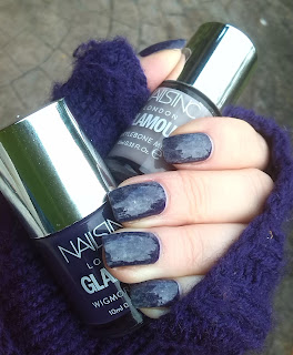 Nails Inc Wigmore Street + Marylebone Mews Saran wrap