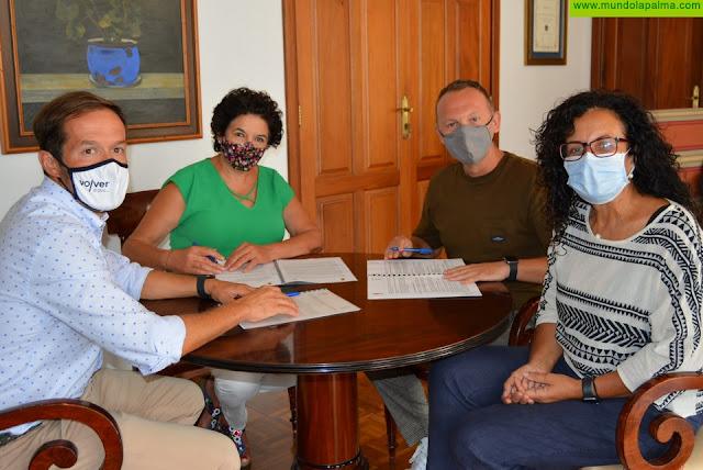 El Cabildo fomenta el compostaje comunitario para implicar a la ciudadanía en la gestión de los residuos orgánicos