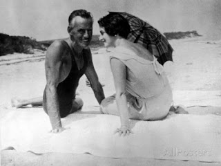 Carlotta Monterey and O'Neill