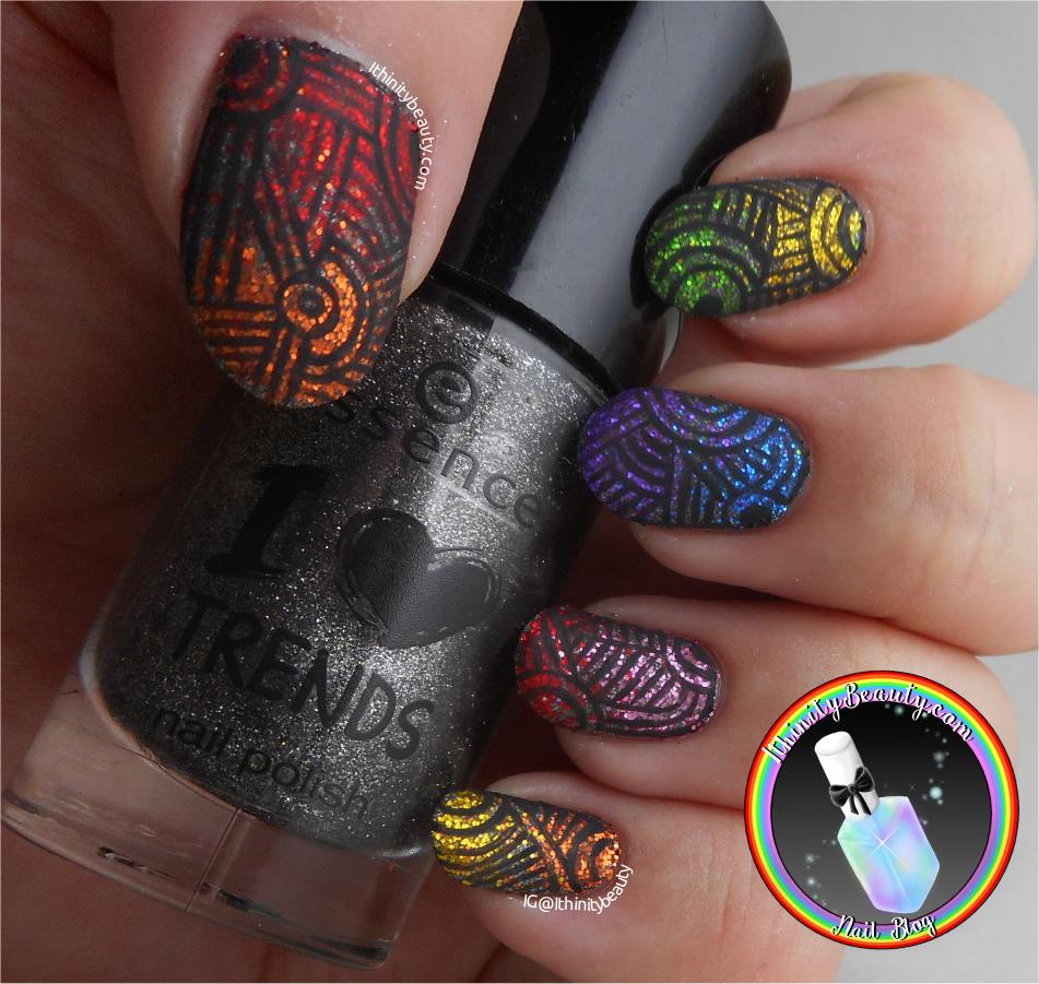 12 Colours Nail Art Glitter Powder (& Freehand Pattern) - Born ...