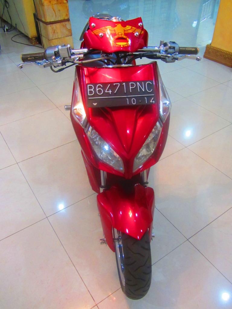 Modifikasi Stang Honda Vario Lampak Modifikasi