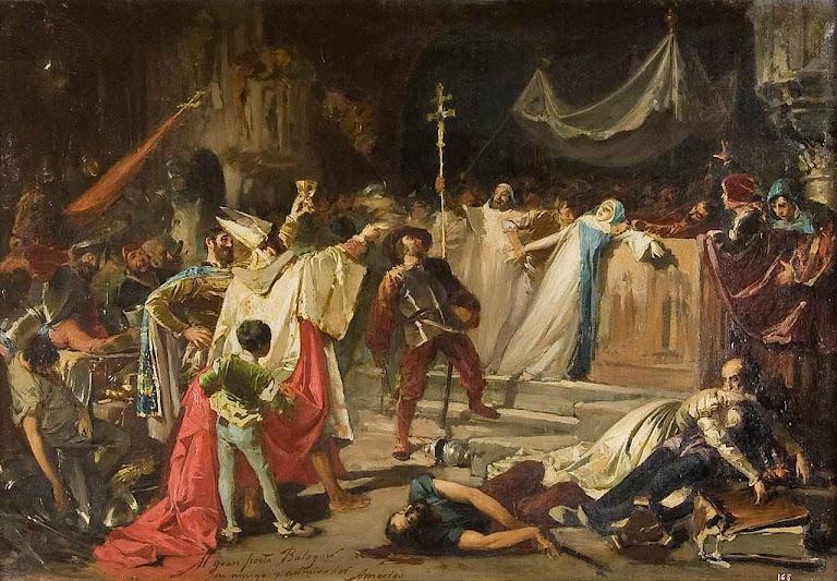 O Saque de Roma, Francisco Javier Amérigo (1842-1912). Biblioteca Museu Víctor Balaguer, Vilanova, Catalunha.