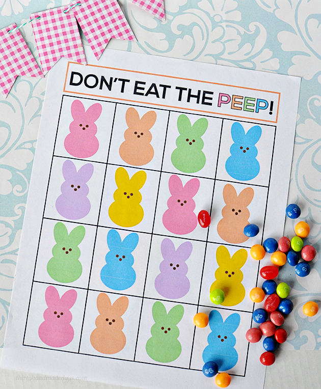 2+donteatthepeep2 The Best Wedding, Easter, Spring and More Printables 36