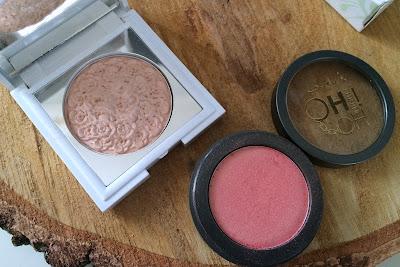 kosmetyki, makijaż, rozświetlacz, róż