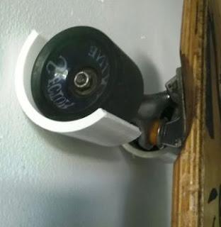 Cara Bikin Gantungan untuk Skate Board Penghias Dinding dari PVC