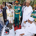 Muhammadu Buhari at the 2017 Armed Forces Remembrance Day.