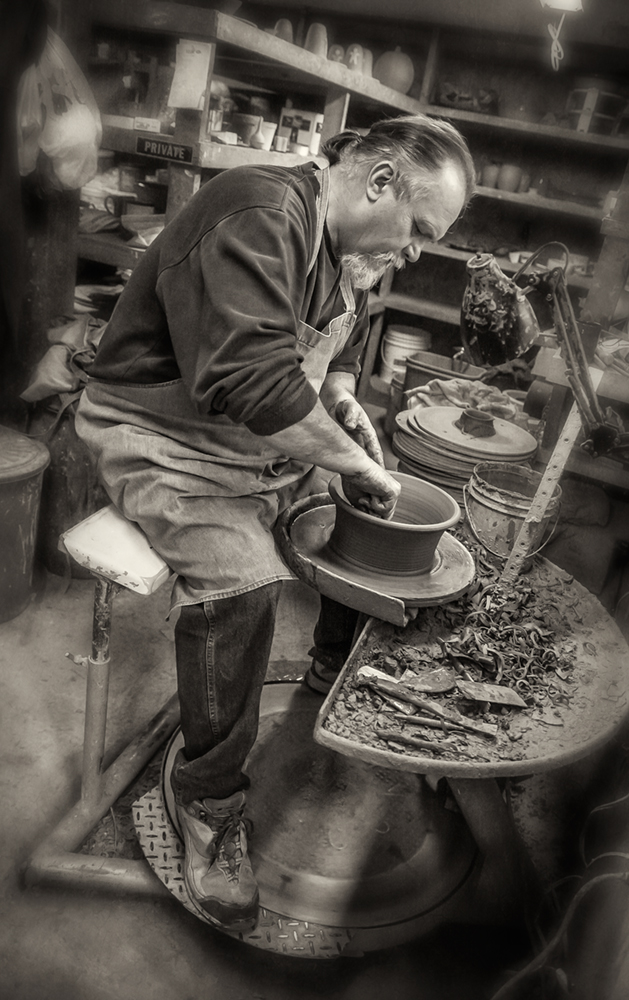 H Pugh Pottery Dan Routh Photography