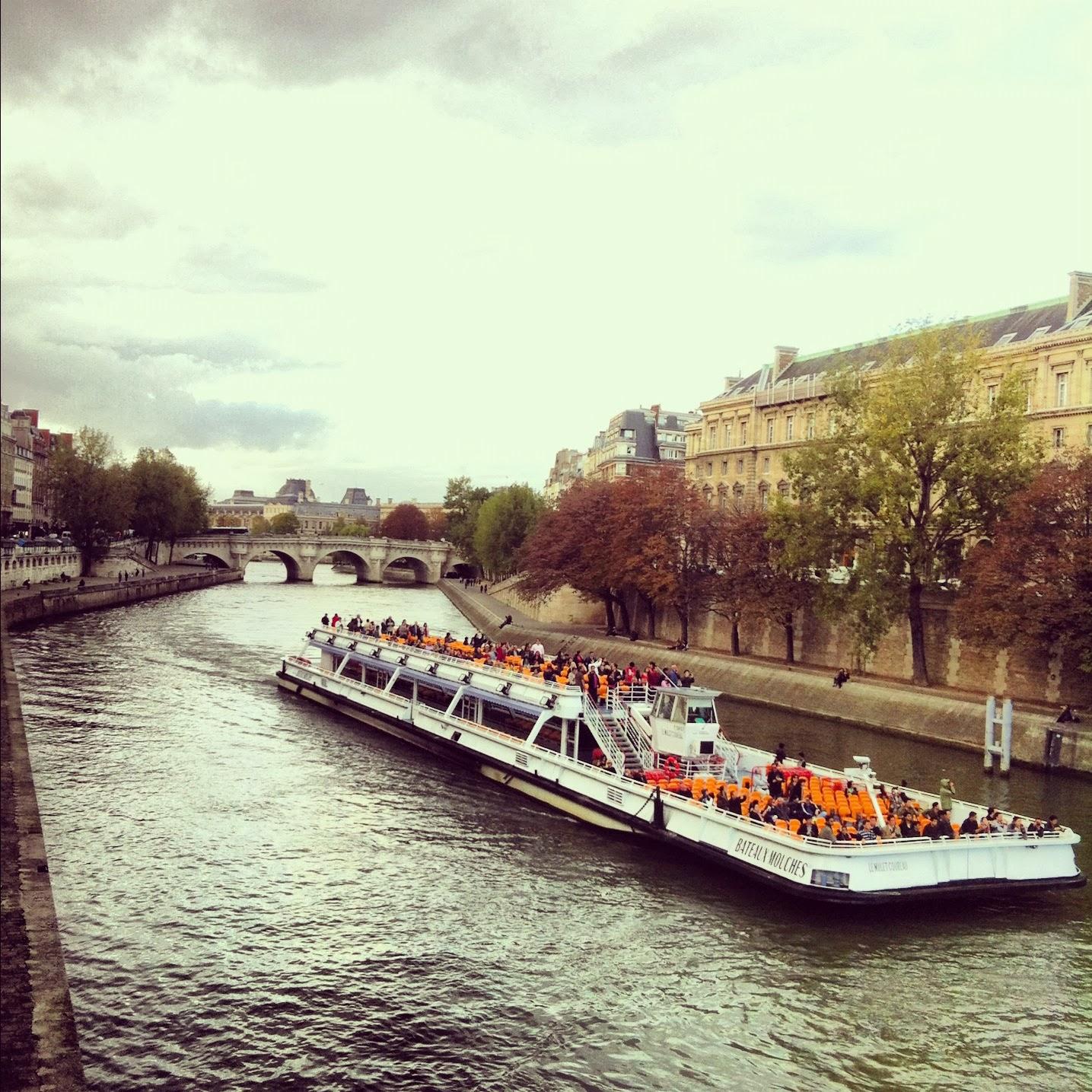 Crucero por el Sena en Barco en Paris
