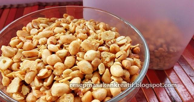 resep kacang bawang putih goreng agar renyah dan empuk