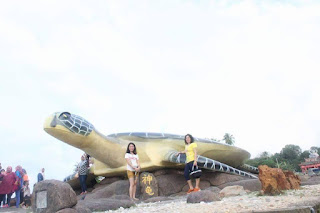 081210999347, paket wisata bintan lagoi kepri, patung gorilla, patung penyu