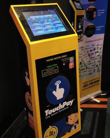 TouchPay Automatic Paying Machinea