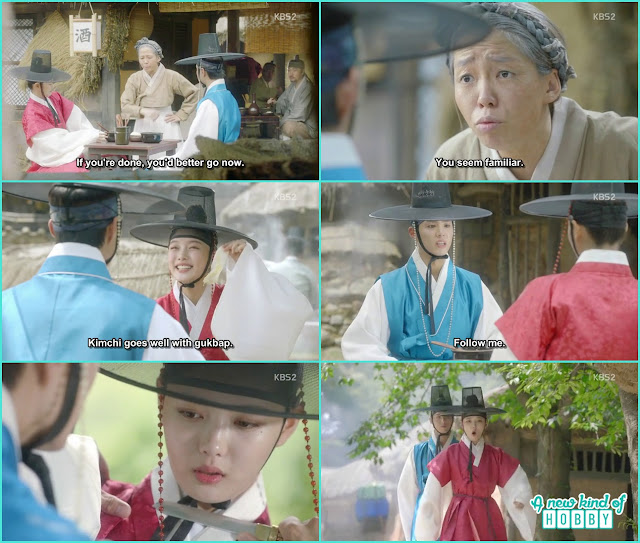 ra on take prince to eat gukbap - Love in the Moonlight - Episode 1 Review