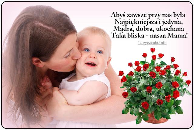 ŻYCZENIA NA DZIEŃ MAMY