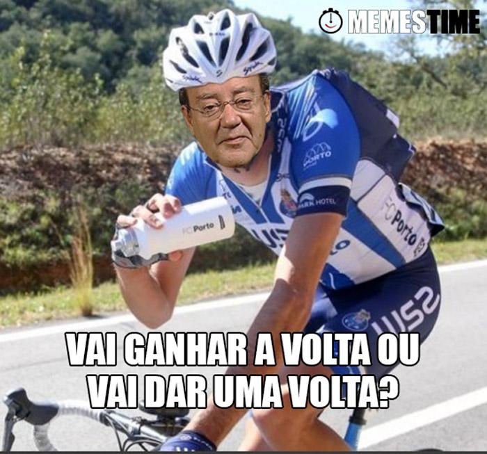 Memes Time Pinto da Costa na Volta a Portugal – Var Ganhar a Volta ou vai dar uma Volta?