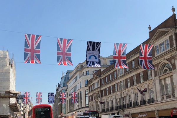 Union Jacks 2018 Royal Wedding London