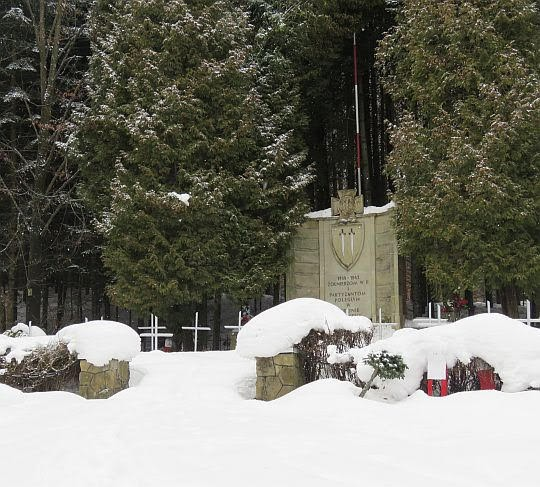 Cmentarz wojenny w Wysokiej.