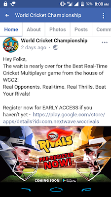 WCC Rival Update