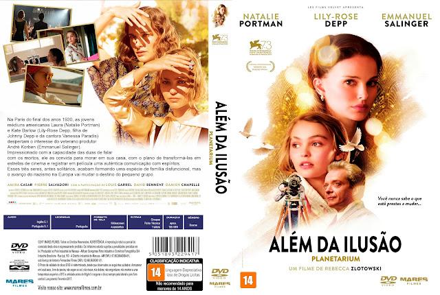Capa DVD Além da Ilusão [Custom]