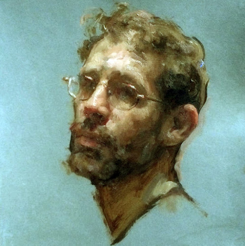 Travis Schlaht, Self Portrait, Portraits of Painters, Fine arts