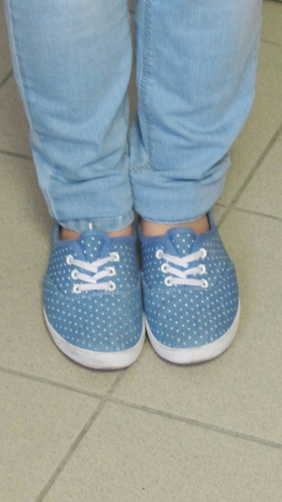 Clothes & Dreams: OOTD: An ordinary day at school: Primark shoes