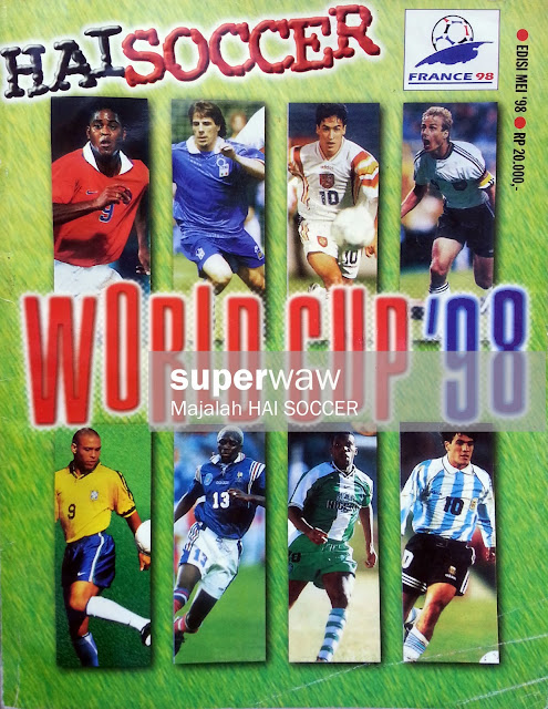 Majalah HAI SOCCER WORLD CUP '98