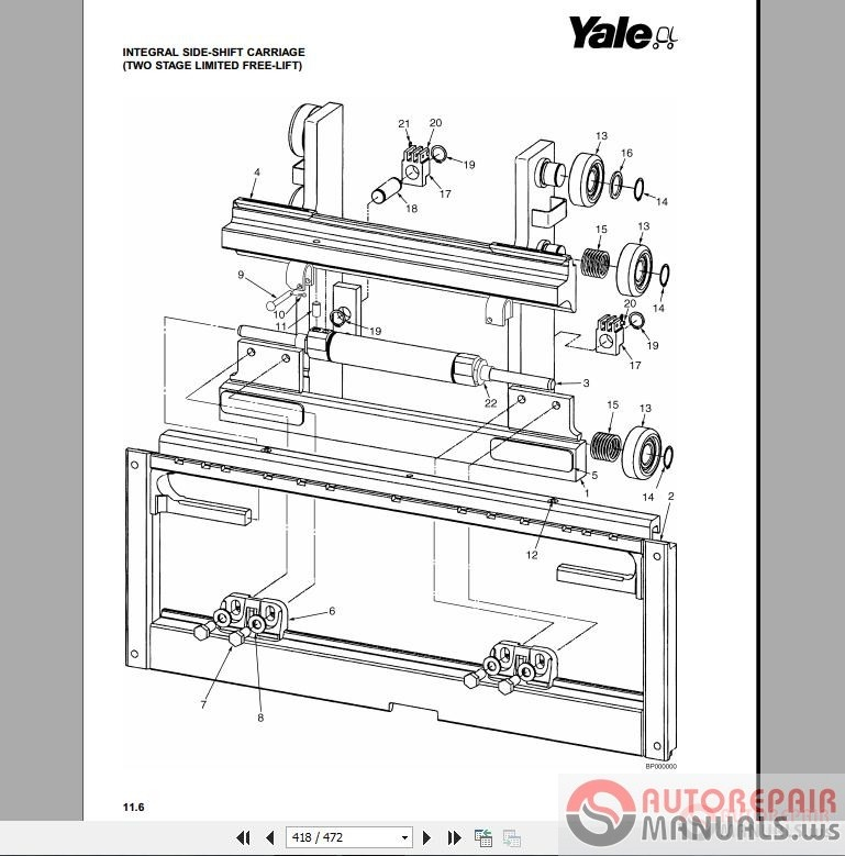 Free Auto Repair Manual : Yale Forklift Parts Manuals New