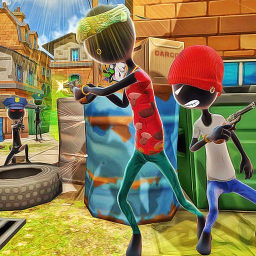 تحميل لعبة Shadow Gangster War Stickman Killer v1.5 مهكرة وكاملة للاندرويد أموال لا تنتهي