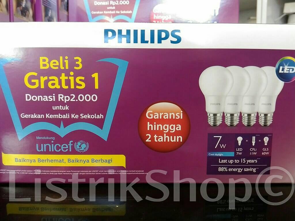 Aneka Lampu Harga Promo Dns Olshoping Led Philips 13 Watt Paket Isi 4 Cahaya Kuning 27000 7 37000 95 43000 4wat