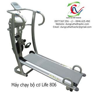 Máy chạy cơ 6 chức năng LIFE - 806