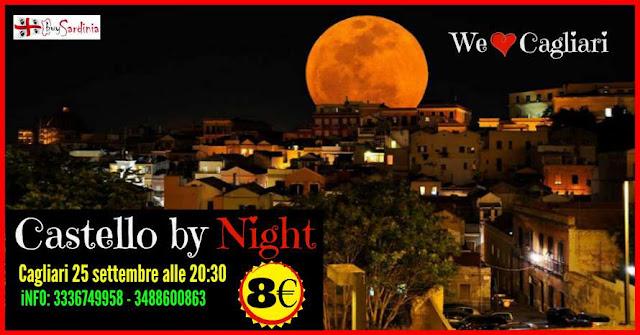CASTELLO BY NIGHT | con buySardinia | VEN 25 SET