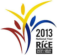 Logo for 2013 National Year of Rice