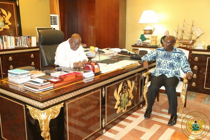 President Akufo-Addo Gives Assent To Special Prosecutor Bill, 4 Others