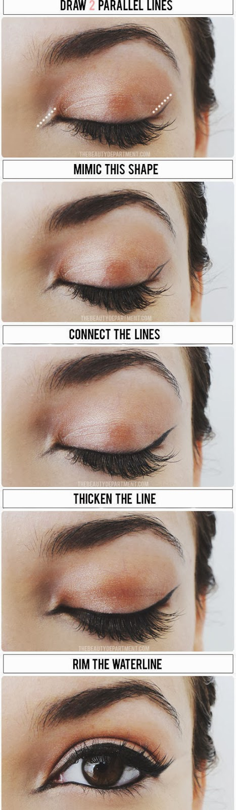 Aprenda fazer o olho gatinho estiloso