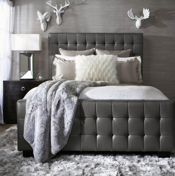 Lush Fab Glam Blogazine: Modern Home Decor Trends: Shades Of Grey.