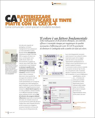 Caratterizzare e certificare le tinte piatte con il CxF/X-4