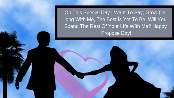 Propose Day Quotes | Celebrate Valentine Week by sending Promise dayimage and status