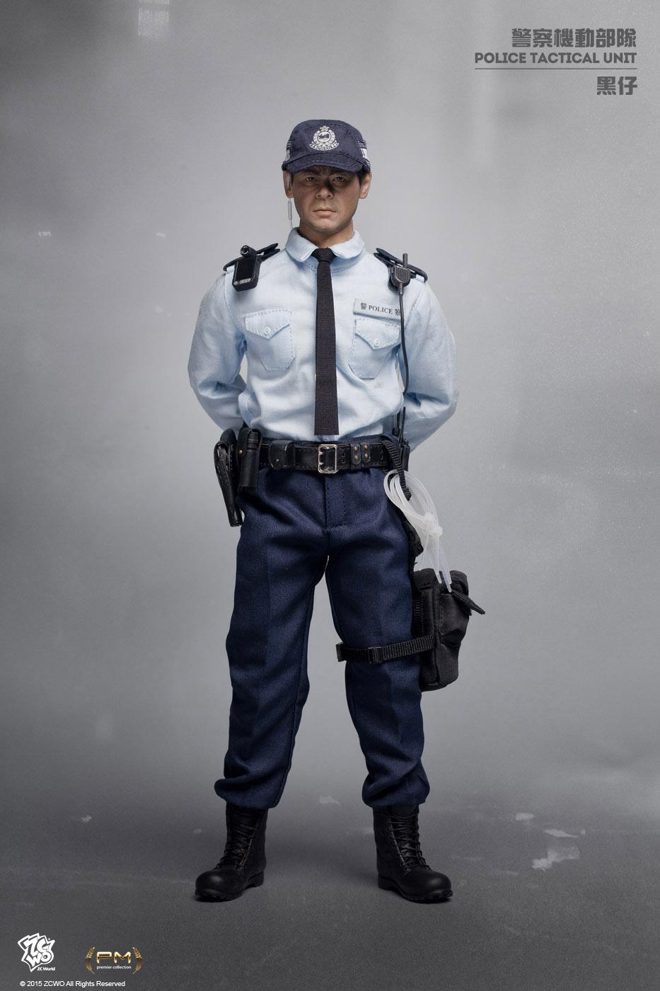 1//6 Scale Dragon Royal Hong Kong Police Tactical Unit Black Beret