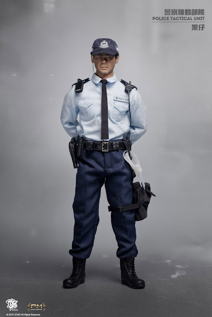 toyhaven: Preview ZCWO 1/6th scale Hong Kong Police ...
