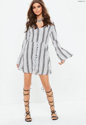 Vestidos Manga Larga