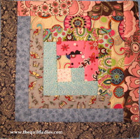 how to make a log cabin quilt block with free pattern