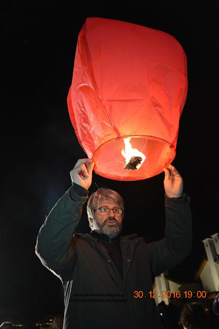 Ηλίας Τσολακίδης. Ο άνθρωπος που γέμισε τον ουρανό της Κατερίνης με αερόστατα και... ευχές!