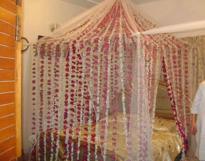 Wedding Room Flower Decoration