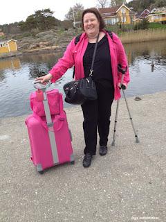 Gro Jeanette har ankommet Hankø!