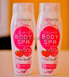 aurawhite body spa lotion