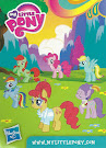 My Little Pony Wave 11 Big Wig Blind Bag Card