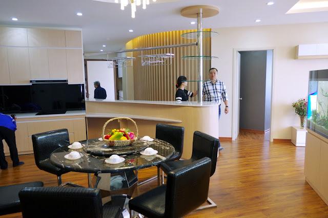 Hình ảnh căn hộ mẫu tháp doanh nhân